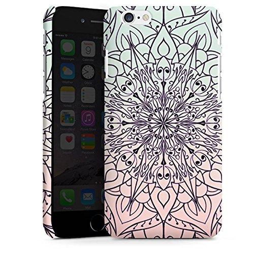 Apple iPhone SE Housse Outdoor Étui militaire Coque Mandala couleurs Tendance Cas Premium mat