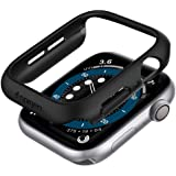 Spigen Thin Fit Compatibile con Apple Watch Custodia per 44mm Series 6/SE/5/4 - Nero