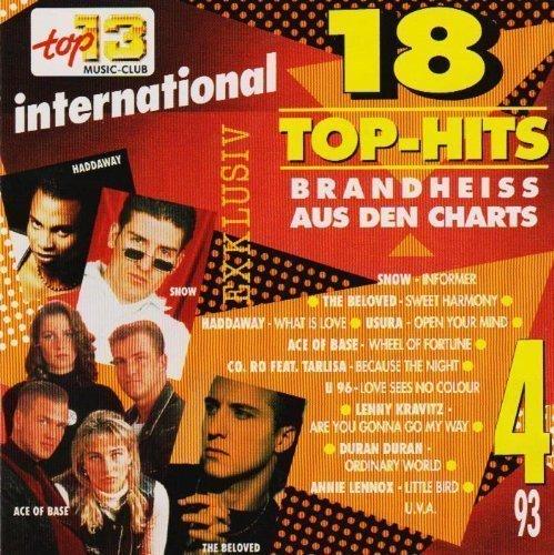 Base Charts (18 TOP - Hits, Exclusiv Brandheiss aus den Charts 4/93 [CD 1993] Top 13 Music Club 784892)