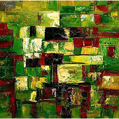 SUMMER ABSTRACT-DI HYDE PARK 121,92 121,92 CM X 48 X (48-PITTURA A OLIO