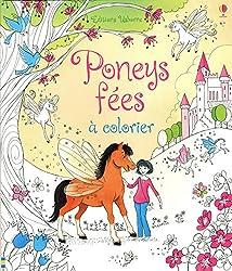 Poney fées à colorier