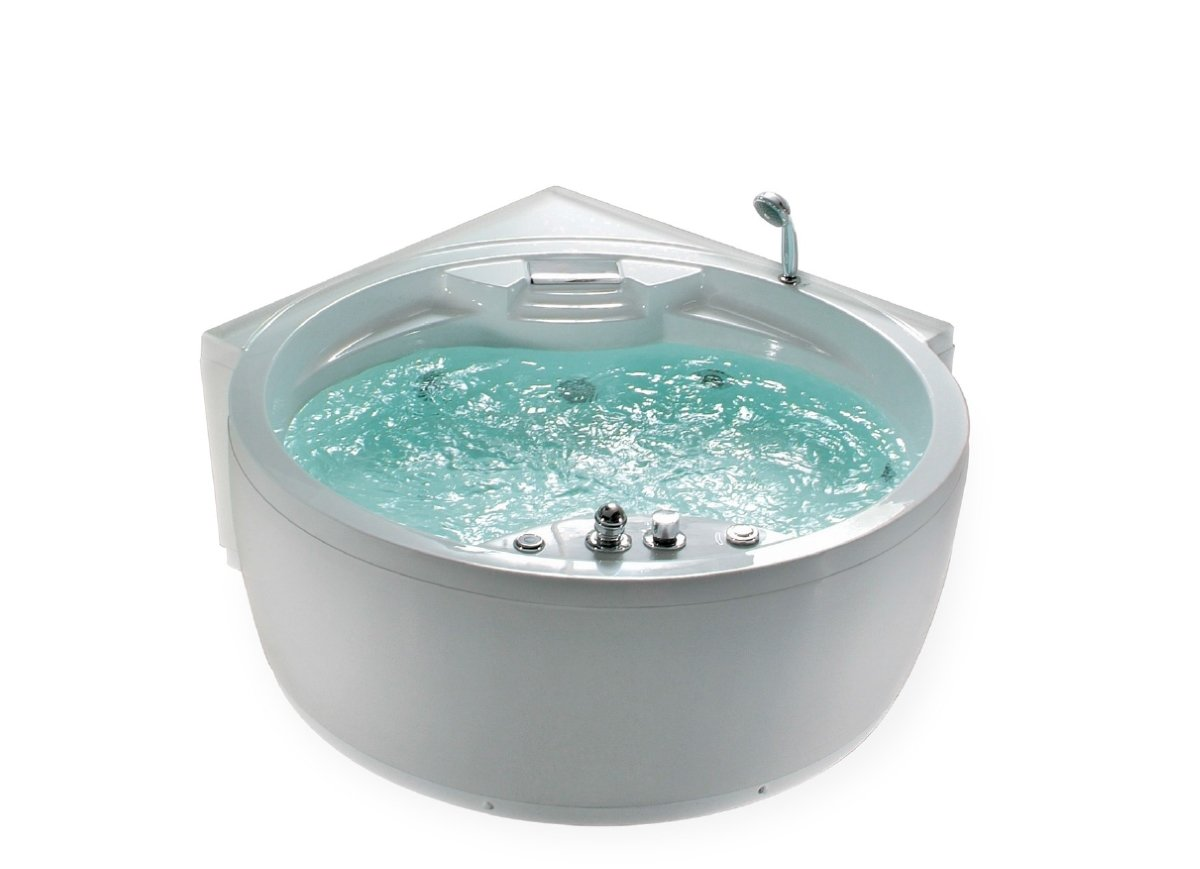 Whirlpool vasca da bagno florence mit 14 ugelli per massaggio