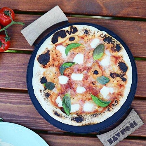 ironate Grill Pizza Plancha ökologische Ultra schnelles kochen ironate