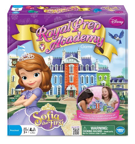 Disney Prinzessin Sofia Royal Prep Academy Board Game (Mehrfarbig) Prep Board