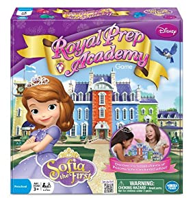Princess Sofia Royal Prep Academy Board Game by Wonder Forge Toy (English Manual)