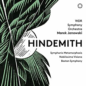 Paul Hindemith: Symphonic Metamorphosis; Nobilissima Visione; Boston Symphony