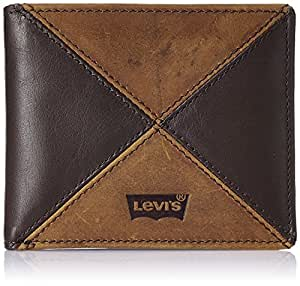 Levis Tan and Brown Leather Men's Wallet (21774-0001_12)