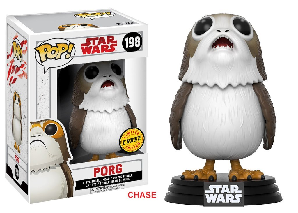 Funko Pop Porg boca abierta CHASE (Star Wars 198) Funko Pop Star Wars