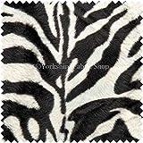 Morbida pelliccia ', motivo: zebrato, animale, rivestimento tenda Crafts-Cuscino in tessuto