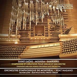 Symphonies et Créations pour orgue et orchestre