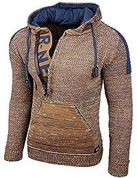 Rusty Neal Top Herren Winter Kapuzenpullover Pulli Sweatshirt Jacke  RN-13277 Neu d6b90203d3