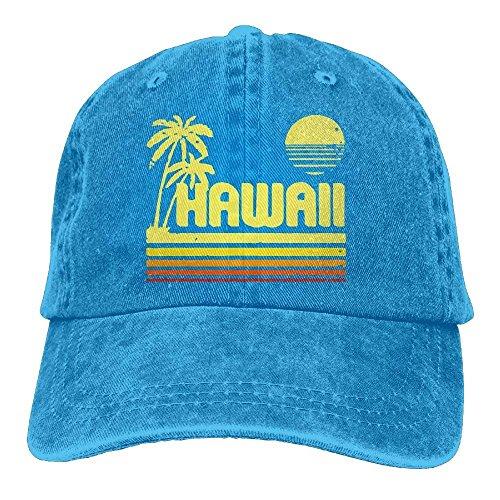 guolinadeou Men and Women Vintage Hawaii Vintage Jeans Baseball Cap