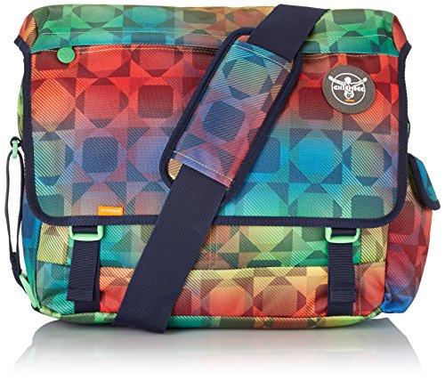 Chiemsee Unisex Umhängetasche Schultertasche Shoulderbag, Messenger Bag Tasche, Plaid Blazing Plaid Barberry