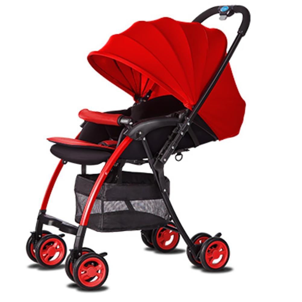 YINGER Prima infanzia passeggino Safety 1st Safety Passeggini carrozzine Passeggini leggeri , red