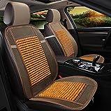 QXXZ Autositzbezüge, Kühlung Bambus-Sitz Autodecke, 1Pcs, G