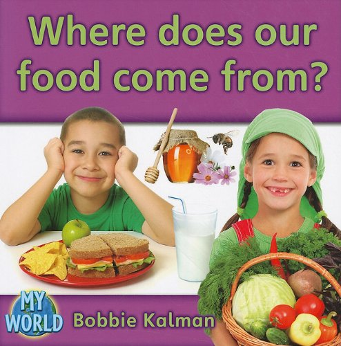 Where Does Our Food Come From?                 by  Bobbie Kalman