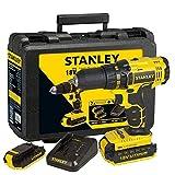 Stanley SCD201D2K-TR Şarjlı Darbesiz Matkap, Sarı/Siyah