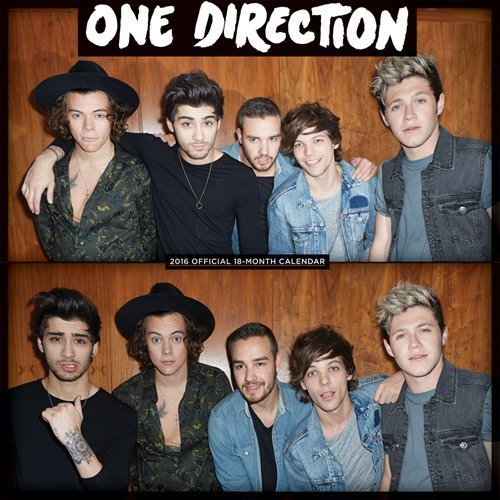 One Direction 2016 Square 12x12 Global by Browntrout Publishers (2015-07-15)