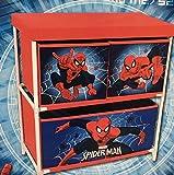 rahomestore NEUF élégant 3boîtes de rangement en Spiderman