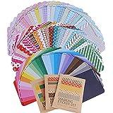 (10 x 6.5cm) 81 Feuilles Autocollants Etiquettes Adhésives en Motifs Différents Stickers Etiquettes pour Mariage Cadeau ou Enveloppe Billets Artinasat