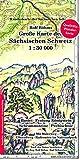 Große Karte der Sächsischen Schweiz 1:30000: Laminierte Ausgabe (Regenfest - Wasserabweisend - Handlich) - Rolf Böhm