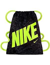 Nike Ya Graphic Gymsack - Mochila para niños, color negro, talla única