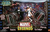 MARVEL LEGENDS URBAN LEGENDS Geschenkbox mit 4 figuren PVC 16cm ELEKTRA, PUNISHER, SPIDERMAN y DARE DEVIL