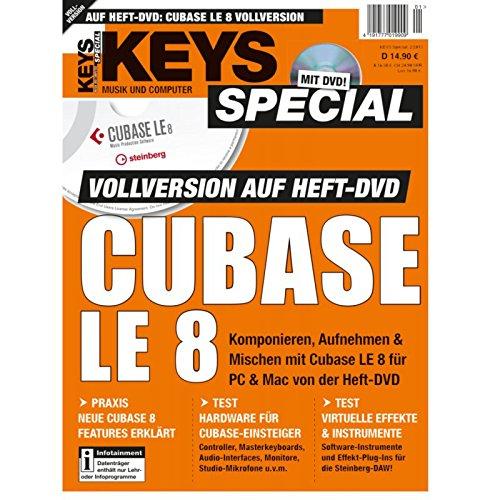 Cubase LE 8 Vollversion Keys Special 2/2015