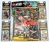 Blue Ocean Lego Star Wars Sammelkarten Serie 1 - Starterpack + 4 Blister Inklusive 6 Karten Limitierte Edition