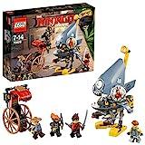 LEGO The Ninjago Movie 70629 - Piranha-Angriff, Unterhaltungsspielzeug - LEGO
