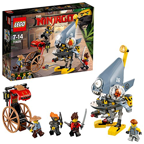 LEGO The Ninjago Movie 70629 - Piranha-Angriff, - Twister Kostüm Für Jungs