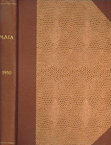 MAIA. RIVISTA DI LETTERATURE CLASSICHE ANNO III.