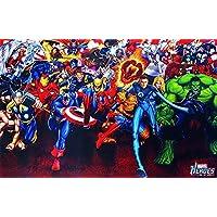 Póster superheroes Marvel