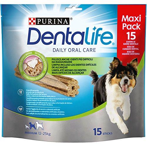 Purina Dentalife para Perros Medianos, Loyalty Pack - 345 gr