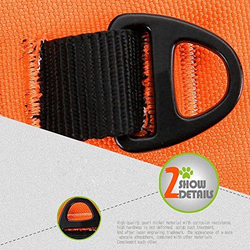 REXSONN® Ultra-Soft Hundegeschirr Softgeschirr Brustgeschirr Hunde Geschirr Sicherheitsgeschirr pet dog vest Harness - 6