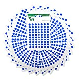 2,100 Easy Peel Self Adhesive Sticky Dots from Ivy - 8mm - Matt Blue [232671]