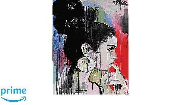 """Cotton Multi-colour Loui Jover /""""tempest/"""" Canvas Print 3.20 x 40.00 x 50.00cm"""