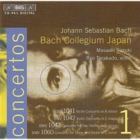 Concerto in C minor, BWV 1060: I. Allegro