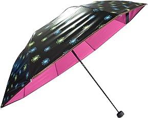 KEKEMI Designer 3 Fold Printed Umbrella for Men & Women