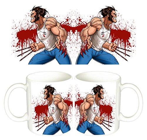 X Men Wolverine Lobezno Taza Mug