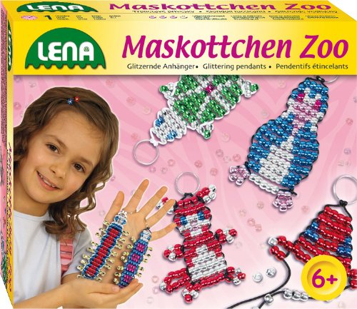 Lena 42021 - Maskottchen Perlenset Zoo