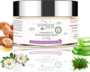 Dry Sensitive Skin MOISTURIZING Protect & Repairing Cream for Baby with Olive Oil Chemical Free