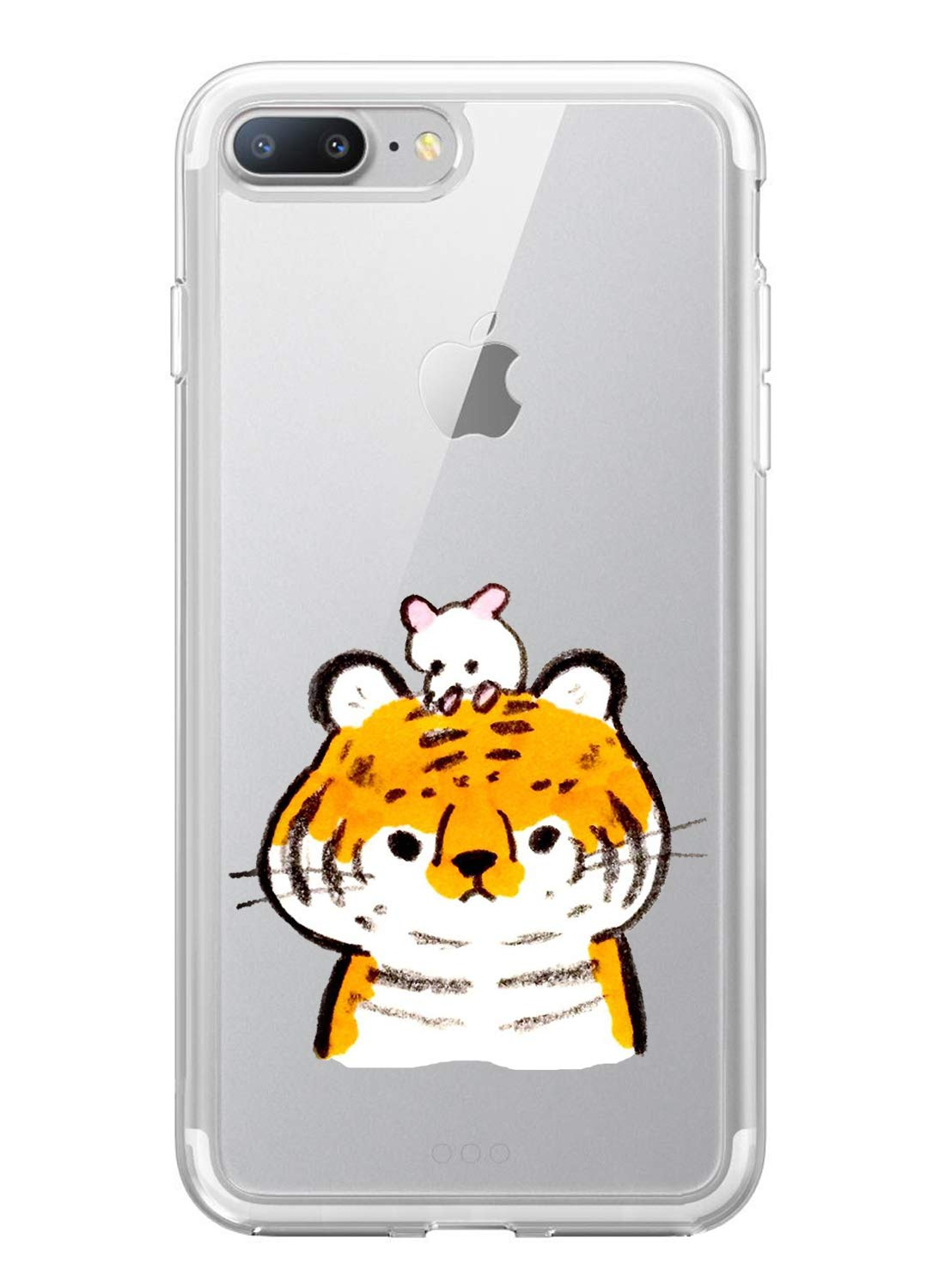 Oihxse Case Compatible with iPhone 5/5S/SE 4 inch Clear with Chic Design, Soft TPU Silicone Ultra Thin Slim Fit [Shockproof] [Anti-fingerprint] Crystal Transparent Case Cover Bumper Skin, Tiger Oihxse ✨【SLIM FIT】ONLY compatible with iPhone 5/5S/SE without bubbles, bubbles smudges, slippy and clinging, which provide a great hand feel & comfortable grip, easy put in and take off from pockets. ✨【CRYSTAL CLEAR】Cute and stylish pattern prints on the crystal transparent slim IPhone 5/5S/SE case, not only shows off the original beauty but adds more chic, fashion and elegant sense, makes you stand out from crowd and eye-catching. ✨【PREMIUM MATERIAL】Made from nontoxic and tasteless flexible TPU material, non fade and peel off. It can resist Iphone 5/5S/SE bumps, drops, scratches, impacts, shocks and fingerprint. 7