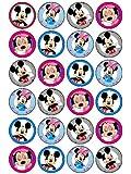 Mickey und Minnie Mouse Cupcake-Aufsatz (#2), 24 Stück