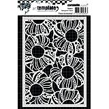 Carabelle Studio Flowers Plantilla, Plastico, 10.0x14.0x0.5 cm