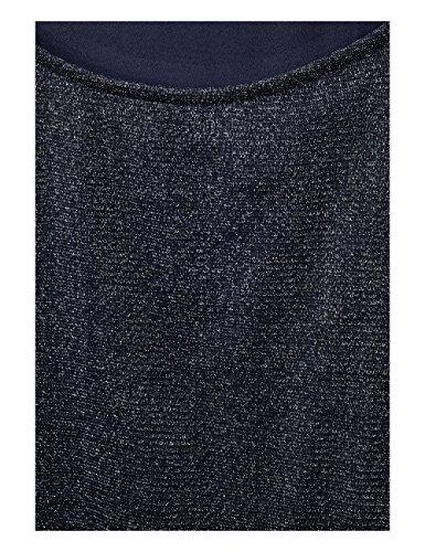 Street One Damen Bluse Blau (Evening Blue 11151)