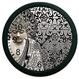 meSleep Ethnic Saint Wall Clock (With Glass)