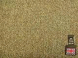 100% Wolle Shetland Tweed Fischgrätstoff AZ50