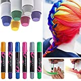 6 couleur craie coloration cheveux teinture diy hair chalk cheveux non toxique temporaires coloration cheveux coloration - Meilleure Coloration Semi Permanente