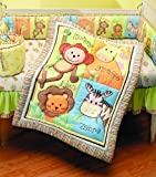 Summer Infant 4 Piece Monkey Jungle Coll...